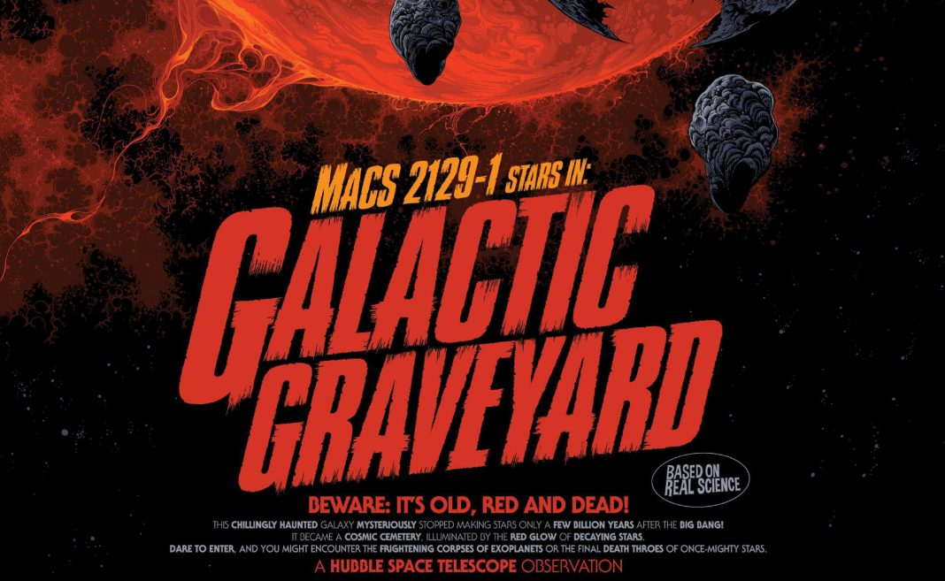 For Halloween, NASA Turns Astronomy Into Film Posters