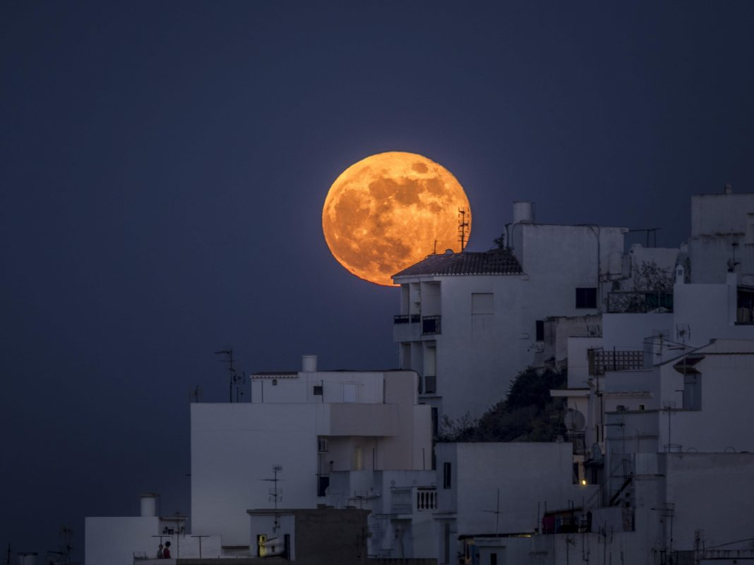 Trick Or Treat? When And Where You Can See A Spooky 'Halloween Hunter's Blue Blood Moon' This Weekend