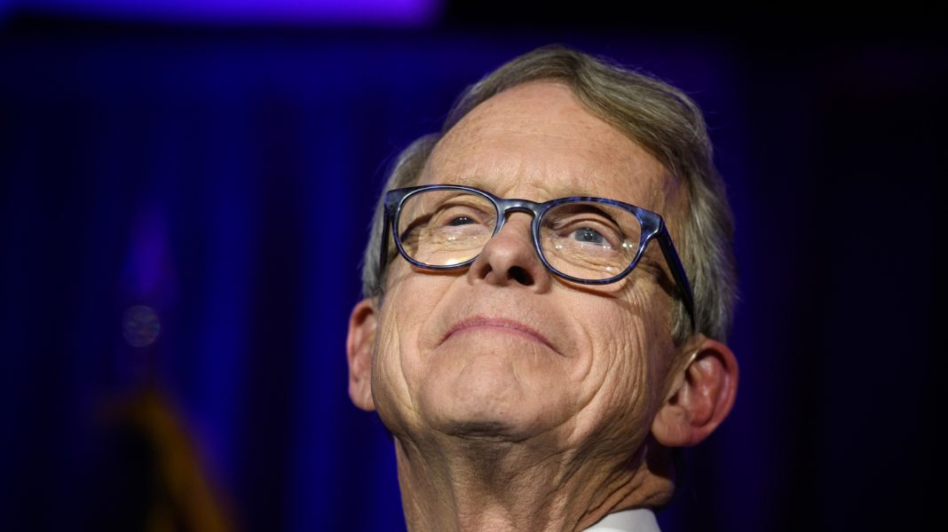 Ohio Gov. Mike DeWine Wishes Trump 'Had A More Happy Relationship With Masks'