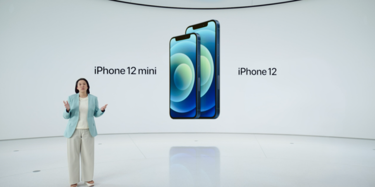 You can now order the tiny iPhone 12 mini or the gigantic iPhone 12 Pro Max