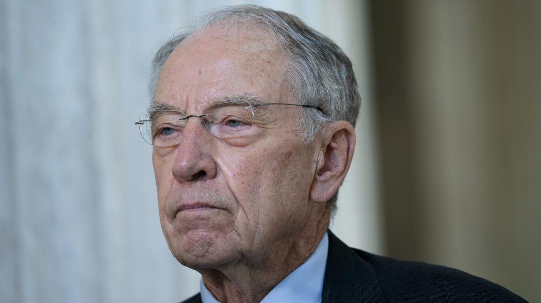 GOP Sen. Chuck Grassley, 87, Tests Positive For The Coronavirus