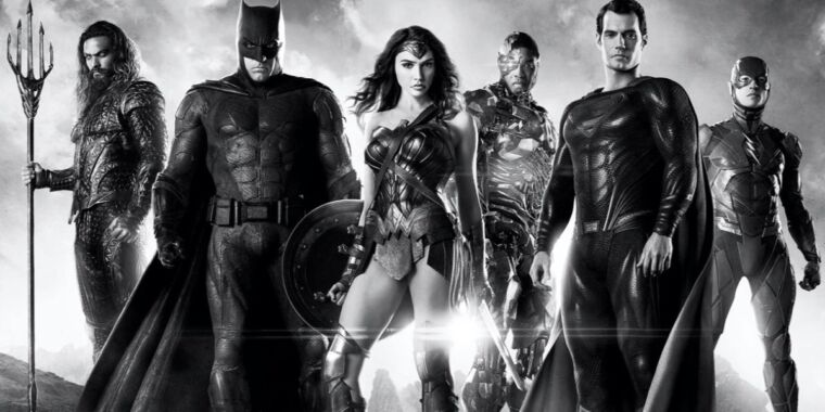 Zack Snyder drops B&W updated version of trailer for Justice League miniseries