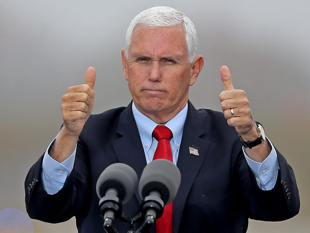 Mike Pence Falsely Gives Credit To Trump For Pfizer Vaccine Success