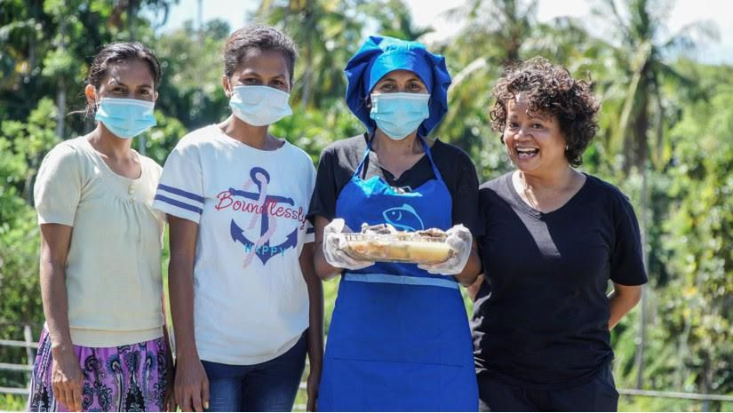 How Does This Fisheries Researcher Help In East Timor ? A Cookbook!
