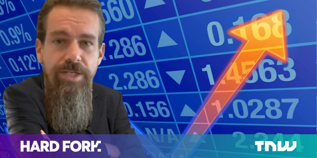 Square stock on fire: Jack Dorsey's beard sets 3 share price records in 3 days