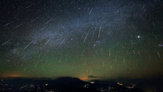 December's stunning Geminid meteor shower is born from a humble asteroid