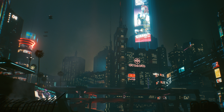 Cyberpunk 2077 is equal parts beautiful and messy