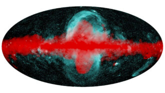 Enormous X-ray bubbles balloon from the center of the Milky Way