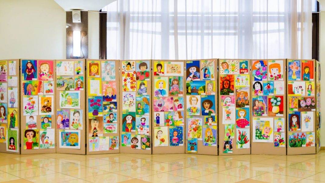 How to Keep Your Kid's Artwork From Piling Up