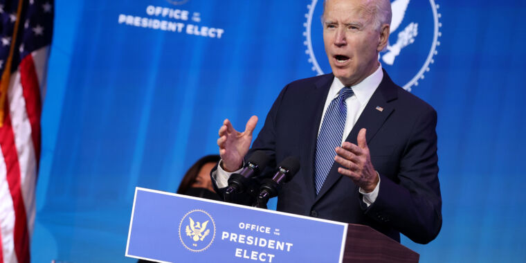 Biden plans to release full vaccine supply, reversing Trump policy