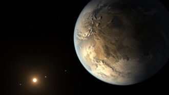 Crushed space rocks hint at exoplanets' early atmospheric makeup