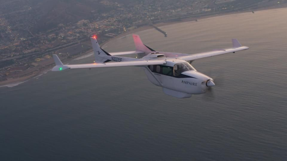 Hybrid Electric Aviation Pioneer Ampaire To Be Acquired By Surf Air