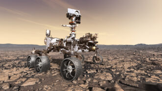 NASA's Perseverance rover has touched down on Mars