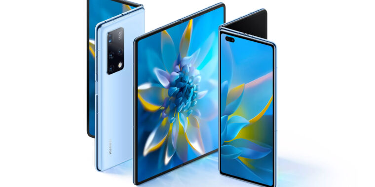 Huawei's new $2,800 foldable phone copies Samsung's Galaxy Fold line