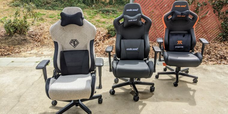 Chairs Technica: We review two new models from Anda Seat