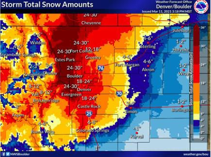Meteorology '101' Of The Potentially Historic Snowstorm In The Rockies This Weekend
