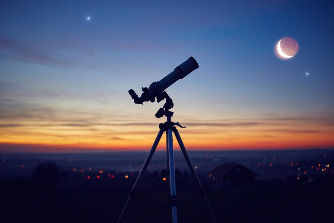 When, Where And How To See This Week's Eye-Catching Close Encounter Between Mars And A Crescent Moon