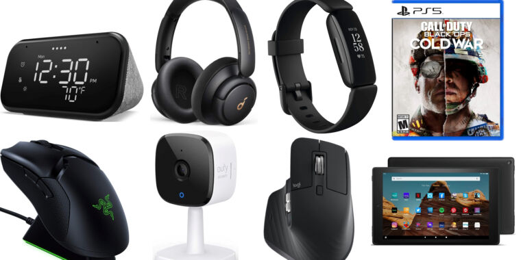 Grab a pair of recommended Anker noise-canceling headphones for $64