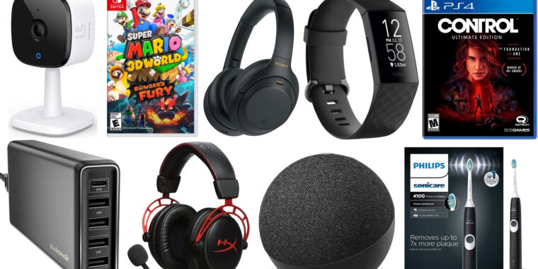 Today's best deals: Sony noise-canceling headphones, Fitbit trackers, and more