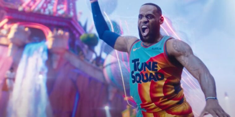 It's the Tune Squad vs. the Goon Squad in Space Jam: A New Legacy trailer