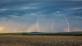 A spike in Arctic lightning strikes may be linked to climate change