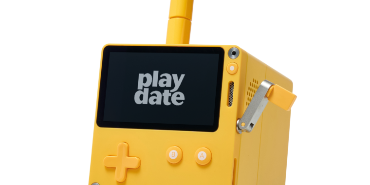 Playdate, the console with a crank, gets July preorder for $179, game details
