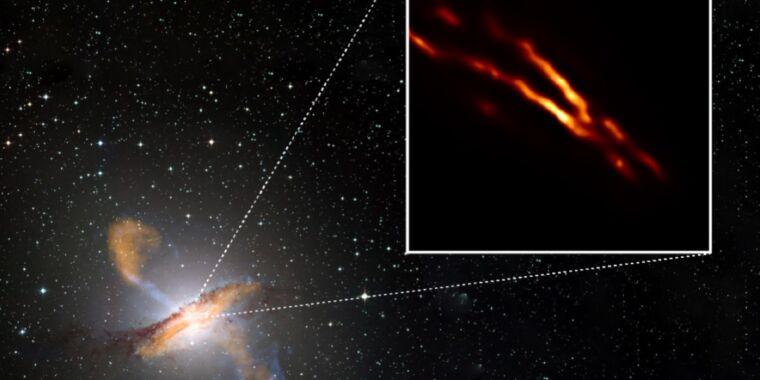 Event Horizon Telescope captures birth of black hole jet in Centaurus A