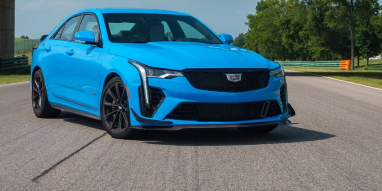 Cadillac saves its best for last: The 2022 CT4-V Blackwing