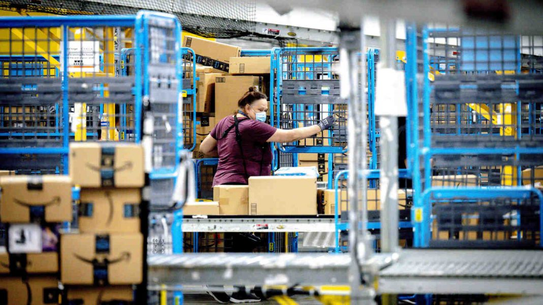 A New Law in California Aims To Protect Workers At Retail Warehouses Like Amazon's